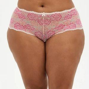 Torrid Boycut Cheeky Panties Underwear Plus Hipster 2x